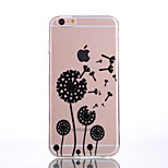 de volta Ultra Fino / Transparentes Other TPU Macio Transparent+Ultra-thin Case Capa Para AppleiPhone 6s Plus/6 Plus / iPhone 6s/6 /