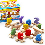 Wooden Digital Train Toy