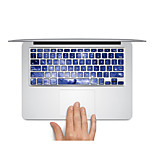 Keyboard Decal Laptop Sticker Blue Univers for MacBook Air 13