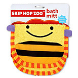 Cartoon Kids Wash Towel Body Cleaning Baby Bath Wash Cloth (Bee)