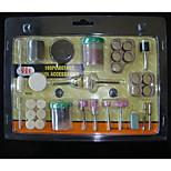 fai da te 105 pezzi di rettifica elettrica e lucidatura tuta testa rettifica utensili elettrici taglio accessori smerigliatrice elettrica