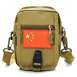 10 L Shoulder Bag Waterproof Brown Oxford