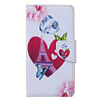Loves Pattern PU Leather Full Body Case with Stand and Card Slot for Samsung Galaxy S6 Active