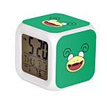 Poke Ball Colorful Flash Cartoon Alarm Clock-32#