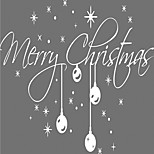 M-3 Christmas / Words & Quotes Wall Decals Holiday Wall Stickers Plane Wall Stickers,vinyl 58*32cm