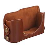 Fujifilm Camera XA1/X-M1 Leather Protective Half Case/Bag