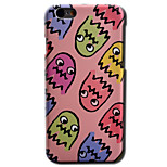 de volta Other Other PC Duro Smooth Surface+Relief+Novelty Pattern Case Capa Para AppleiPhone 6s Plus/6 Plus / iPhone 6s/6 / iPhone