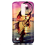 The New Sunset Campanula Painted Patterns TPU Soft Case Phone Case For LG K4/K8