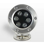 1PCS 6W Warm White 6-LED  Underwater Lights