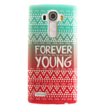 Forever Young Painting Pattern TPU Soft Case for LG G4/G4Mini/G4C/G3Mini/G3
