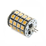 1 pcs   G4 5.3W 49SMD 5050 560LM±10% Warm White / Cool White LED Corn Bulbs DC10-30V & AC8-18V