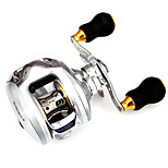 Spinning Reels 6.3/1 12 Ball Bearings Exchangable Bait Casting / General Fishing-Silver Revo Fishmore