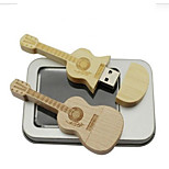 Wooden U disk 32g Guitar Creative gifts USB 2.0 Waterproof