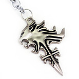 Anime Peripheral Accessories Final Fantasy Final Fantasy Wolf Cross Symbol Necklace
