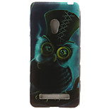 Owl Painting Pattern TPU Soft Case for Asus Zenfone 5