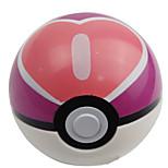 Pocket Little Monster Plastic Heart Poke Ball 1 pcs