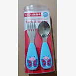 Stainless Steel  Baby Fork and Spoon(butterfly)