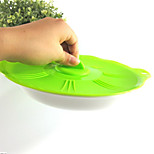 Creative Silicone Fresh Food Bowl Lid Microwave Tureen Lids A-40 5Pcs