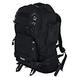 40 L Backpack Camping & Hiking Outdoor Waterproof / Multifunctional Black Nylon