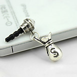 F201 Vintage Purse Personality Mobile Phone Dust Plug