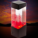 (Volcano Black) Creative Mini USB Aquarium Volcano Lamp Electronic LED Nightlight Desk Lamp