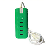 4 USB Ports Multi Ports Home Charger with Cable For iPad / For Cellphone / For iPhone / For Other Pad