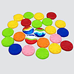 20 pcs CMPICK PS2 / PS3 / PS4 XBOXONE/XBOX360 rocker silicone cap button cap handle joystick hat (Random color)