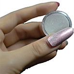 1 Bottle Nail Art Red Glitter Highlight Shining Symphony Chameleon Mirror Powder And 1 pcs Brush Nail Beauty NC355