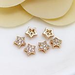 DIY Jewelry 24K Gold Mini Star