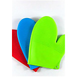Thick Silicone Glove Silicone Microwave Oven Gloves Insulated Gloves Microwave Oven Gloves 5Pcs