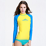 SBART Women's Diving Suits Diving Suit Compression Wetsuits 1.5 to 1.9 mm Yellow S / M / L / XL Diving