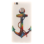 Anchor Young Painting Pattern TPU Soft Case for Huawei Ascend P9 Lite P9Mini/ P8 Lite P8Mini
