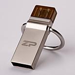 ZP C07 64GB USB 2.0 Resistente à Água / Resistente ao Choque / Rotativo / Suporte de OTG (Micro USB)