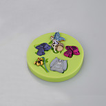 Flower Fairy Tale Mushroom Silicone Sugarcraft Mold Fondant Cake Decorating Tools Chocolate Cupcake Candy Clay Making