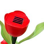 tulipe jardin lampes solaires de jardin pelouse LED Veilleuse