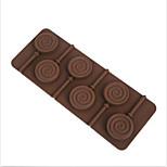 1 Cozimento Ecológico Torta / Pizza / Chocolate / Gelo / Pão / Bolo / Biscoito / Cupcake Silicone Moldes de Forno