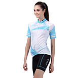 Sportivo Bicicletta/Ciclismo Maglietta + pantaloncini/Maglia+Pantaloncini/Cosciali / Top / Pantaloni Per donna Maniche corte Traspirante