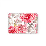 MacBook  Retina Front Decal  Laptop Sticker Red  Flower  for All Macbook