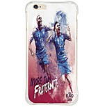 Football Star Shockproof/Transparent TPU Soft Case Cover For Apple iPhone 6s Plus/6 Plus/iPhone 6s/6/iPhone 5s/5/SE
