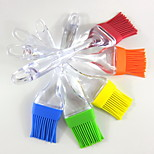 Bakeware Small Silicone Brush Barbecue Tea Sweep Sweep Brush Butter Oil Brush Silicone Brush 5Pcs