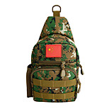 5 L Shoulder Bag Wearable Army Green Canvas