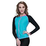 SBART Women's Diving Suits Diving Suit Compression Wetsuits 1.5 to 1.9 mm Blue S / M / L / XL Diving
