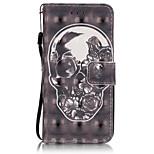 Ganzkörper Brieftasche / Kartenhalter / Flip Einheitliche Farbe PU - Leder Weich Card Holder Fall-Abdeckung für AppleiPhone 6s Plus/6