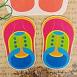 cordones de los zapatos que practican juguete