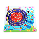 Wooden Magnetic Pen Beads Maze(Snail)
