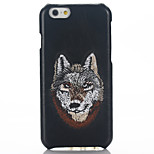 zurück Other Other Echtes Leder Hart Genuine Leather+Hand Embroidery Fall-Abdeckung für Apple iPhone 6s Plus/6 Plus / iPhone 6s/6