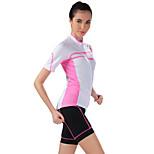 Sports Bike/Cycling Jersey + Shorts / Tops / Bottoms Women's Short Sleeve Breathable / Sweat-wicking Elastane SportS / M / L / XL / XXL /