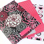 Pink Set of Portfolio Booklet Cute Decoration Gift Lovely School/Business/Multifunction/Art Supplies/Painting Folders