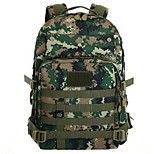 10 L Backpack Waterproof Light Gold / Army Green Canvas