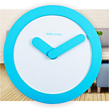Geekcook / Geeks Library Circular Wall Clock Bedroom Living Room Wall Clock Simple Fashion Watches Bell Zero